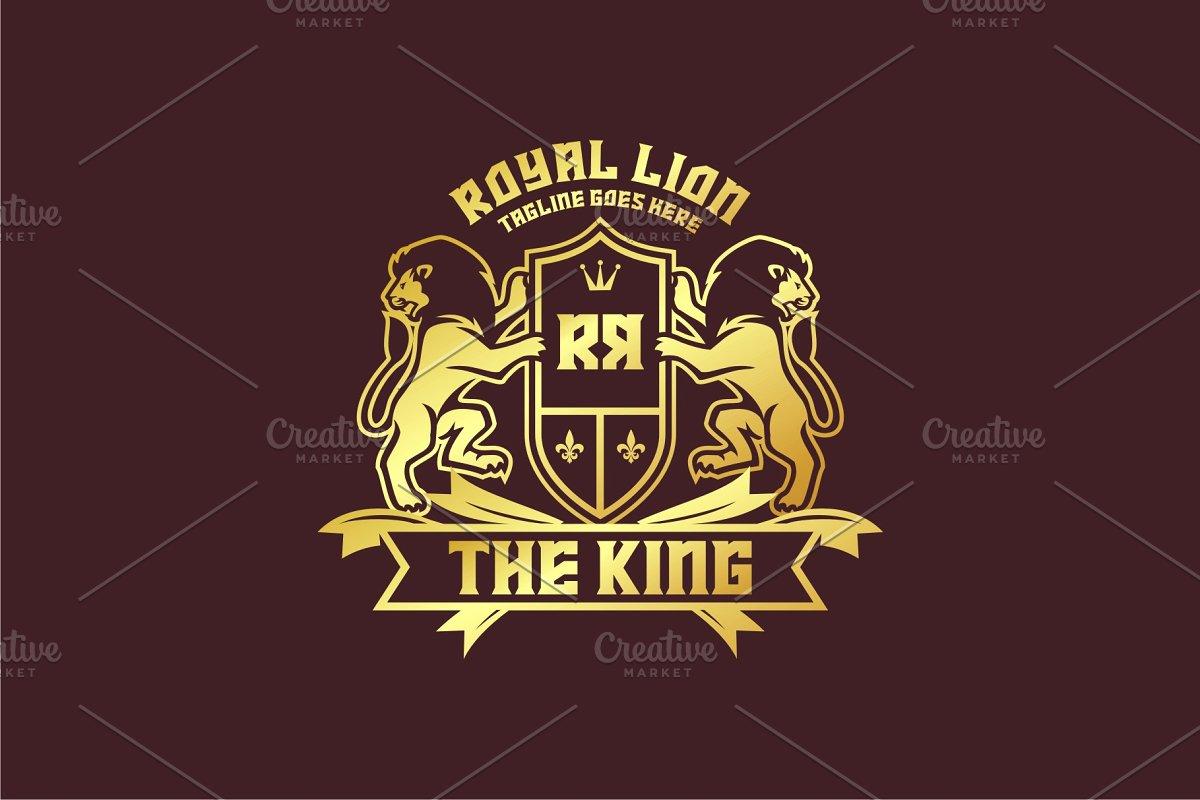 King Lion Crest.