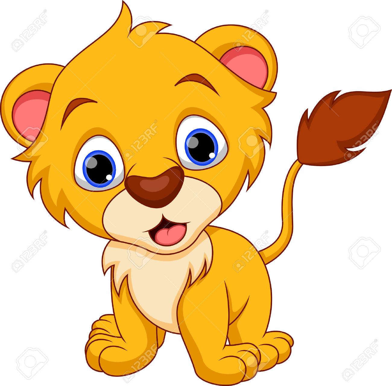 898 Lion Cub Stock Illustrations, Cliparts And Royalty Free Lion.