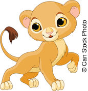 Lion cub Clipart and Stock Illustrations. 648 Lion cub vector EPS.