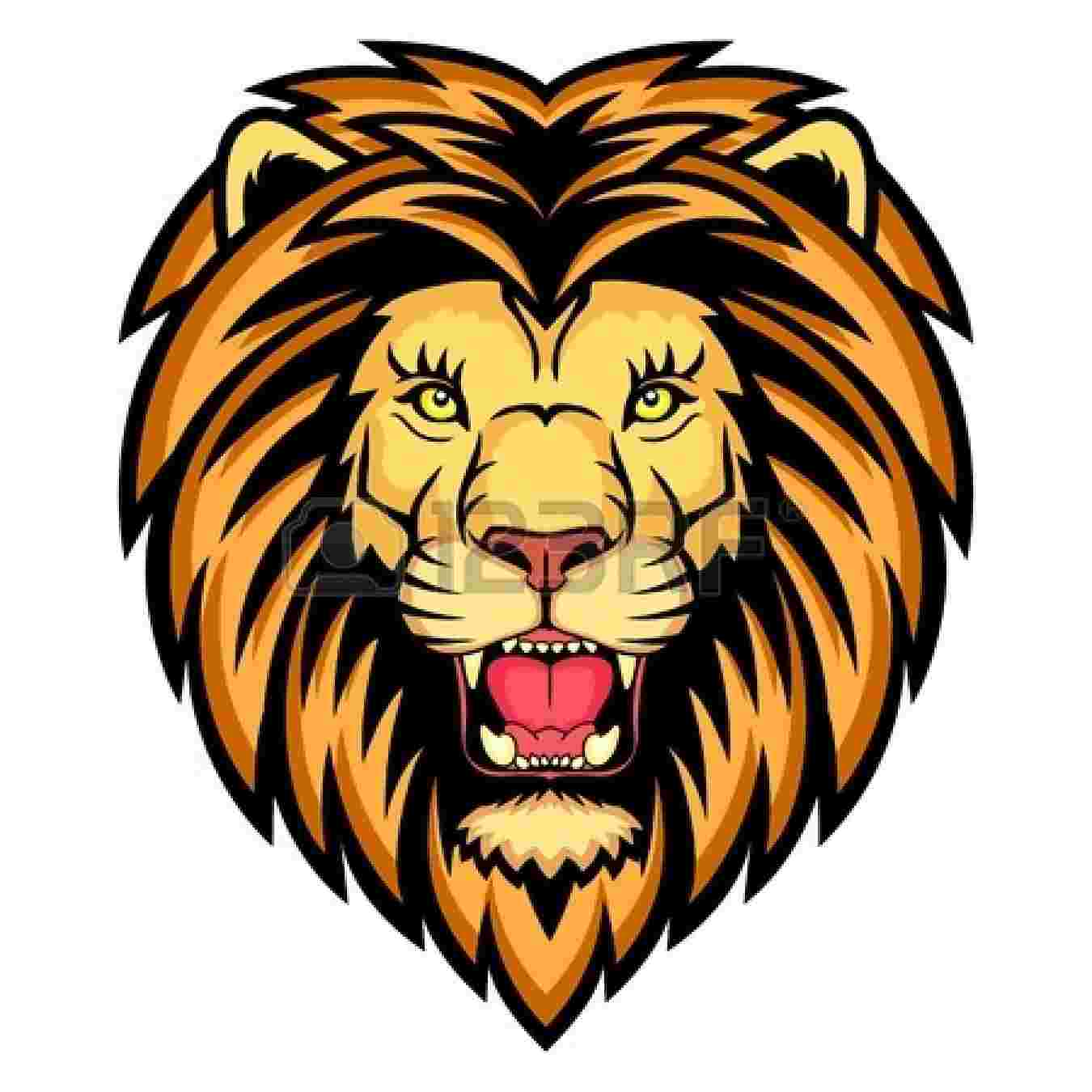 Cliparts Library: Clipart Head Lion.
