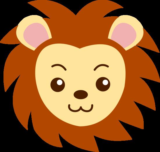 Lion Face Clipart.