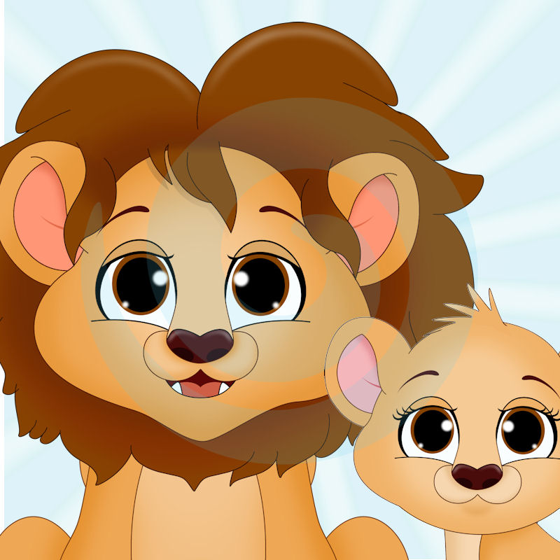 The Lion Family.