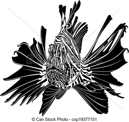 Lionfish Clipart and Stock Illustrations. 154 Lionfish vector EPS.