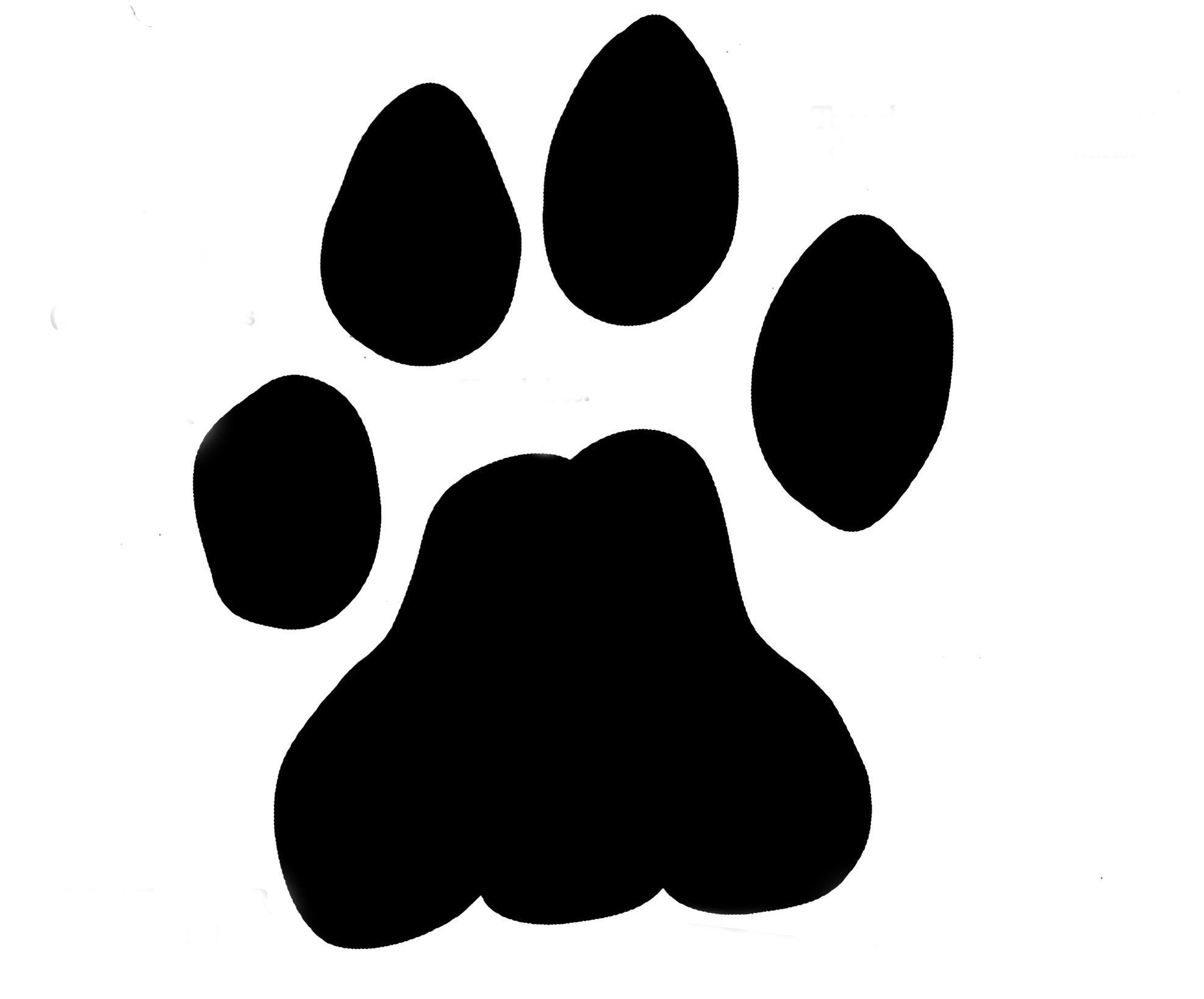 Lion Paw Clipart.