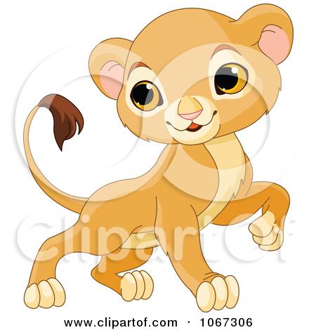 Lion Girl Clipart.