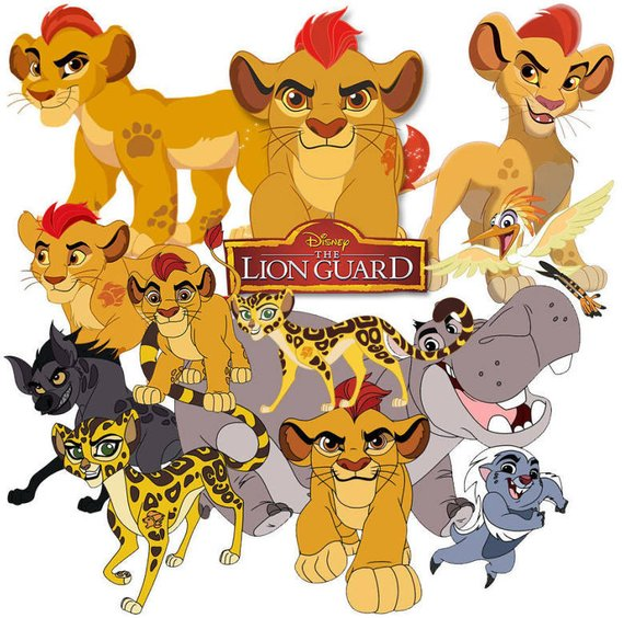 Lion King and Lion Guard clipart.