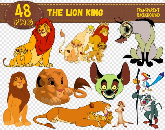 The Lion King Clipart, The Lion King characters, The Lion.