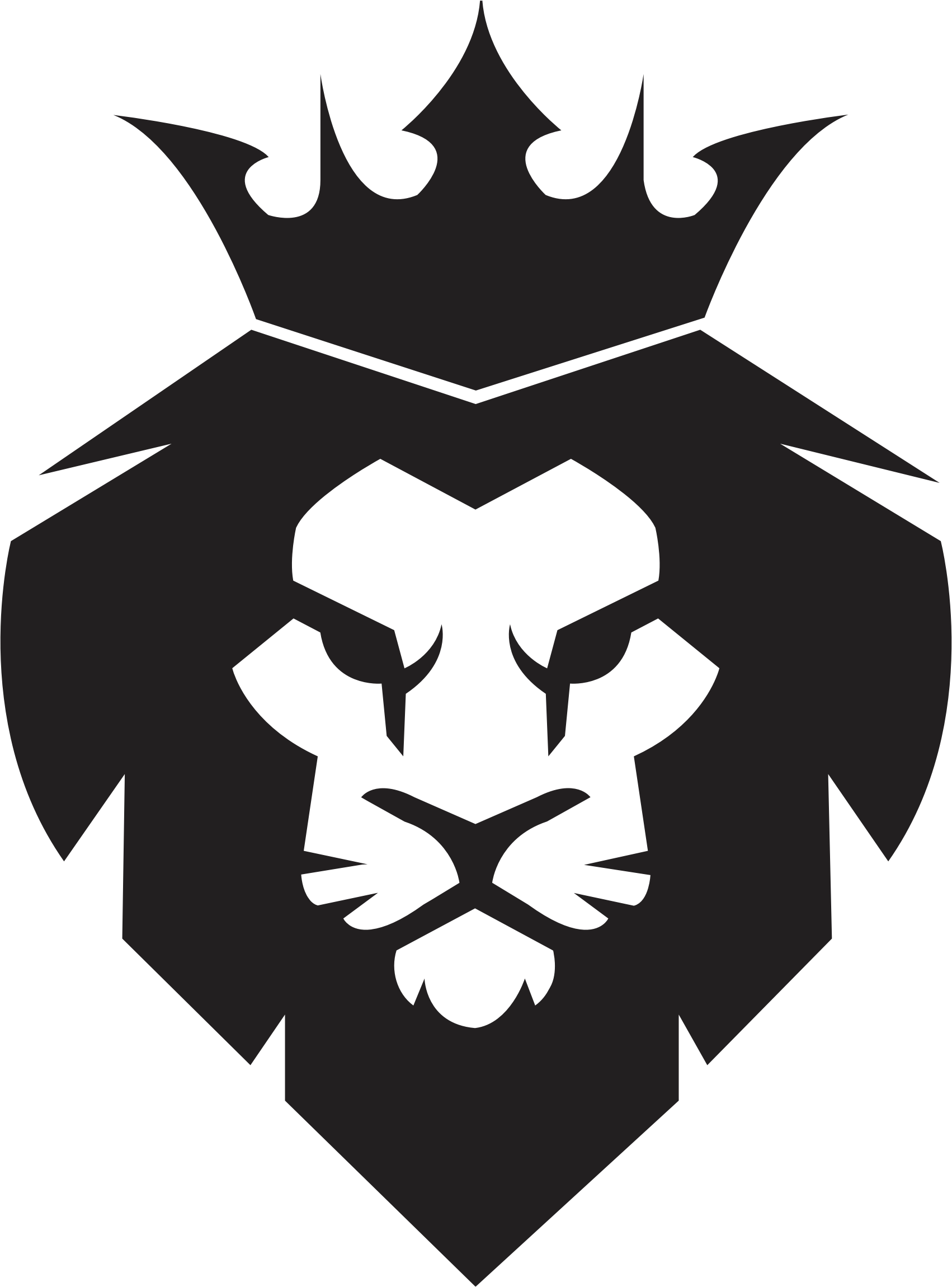 Lion king clipart black and white 3 » Clipart Station.