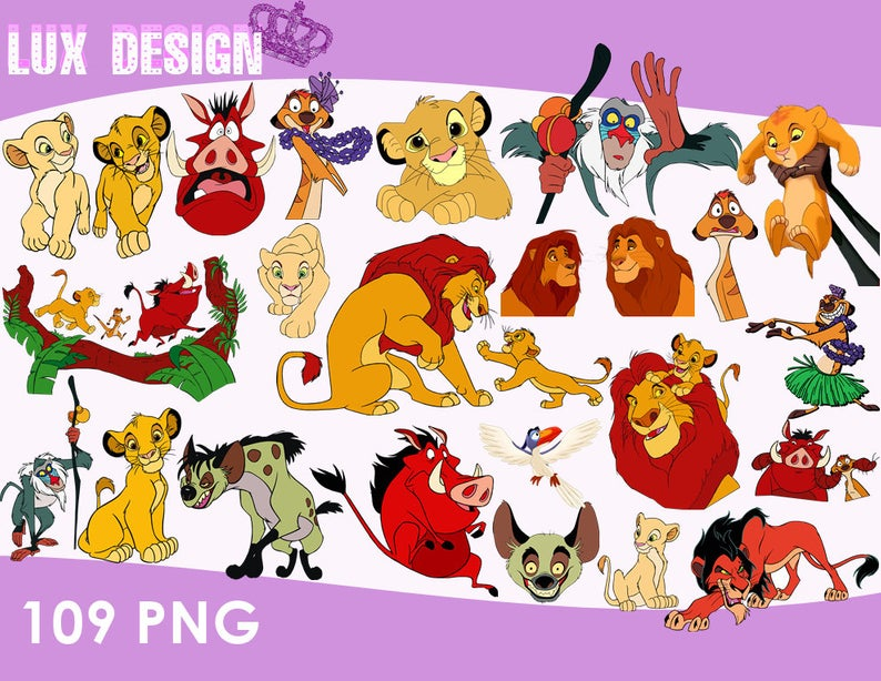 109 The Lion King Clipart.