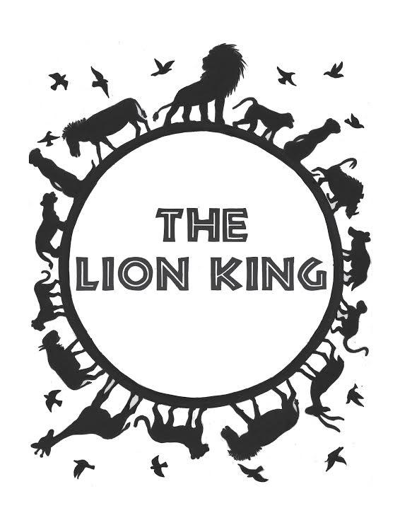 Lion King Clipart Black And White (95+ images in Collection.