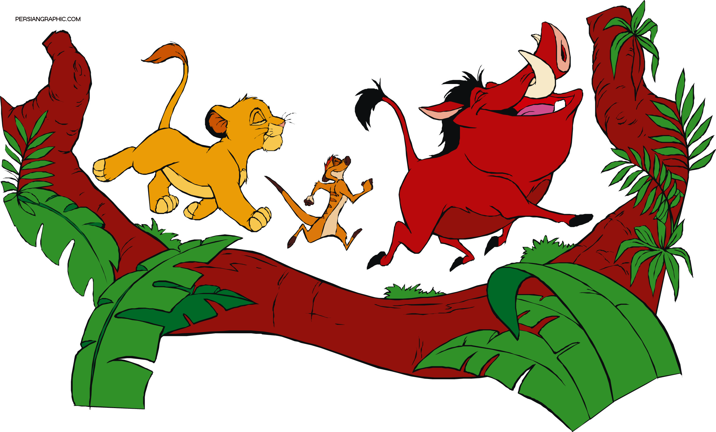 Lion King Monkey Clipart.