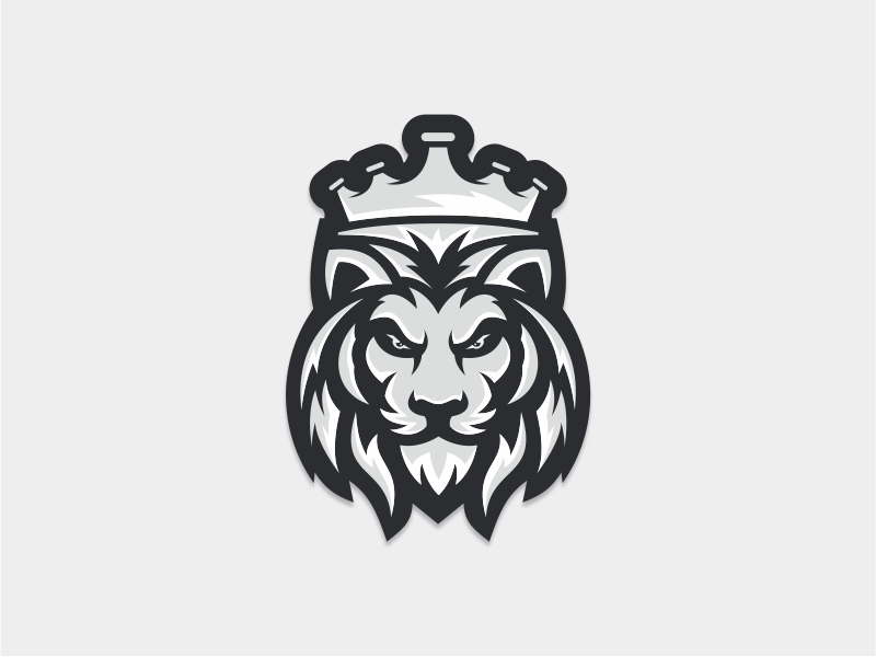 Lion King by thedesignmate on Dribbble.