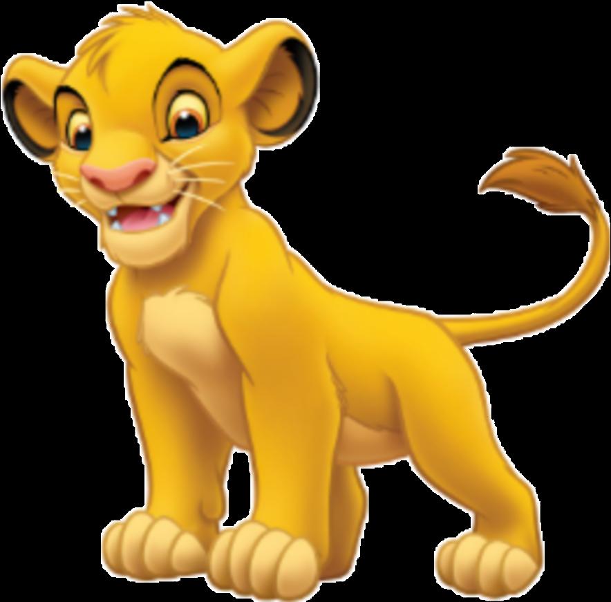 Simba Sticker.