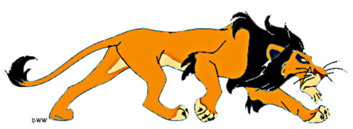 lion king scar clipart Clipground