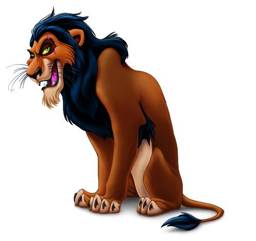 Disney Scar Clipart.