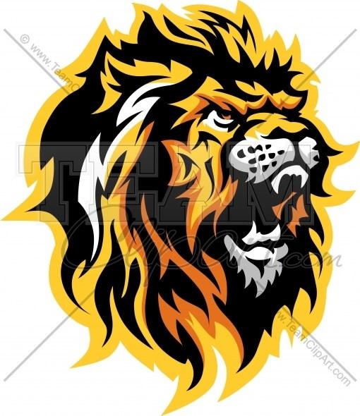 Lion Logo Graphic Clipart Mascot Image » Clipart Portal.