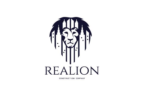 For Sale: Real Estate Lion Logo Design.