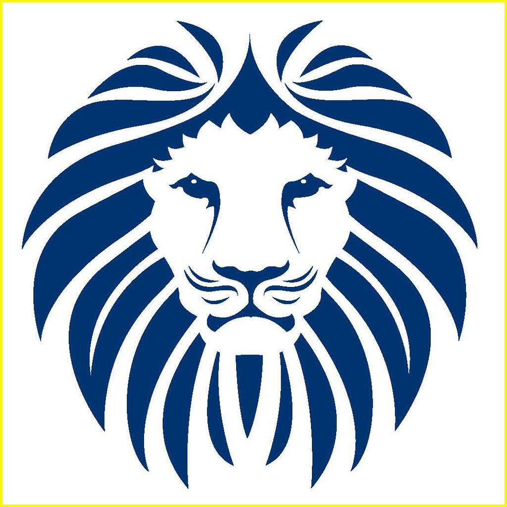 GJPS Lion Mane Logo.