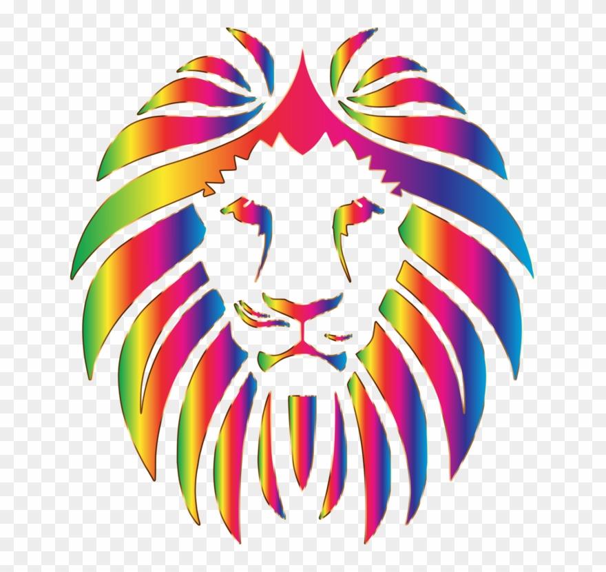 Lionhead Rabbit Drawing Roar Logo.