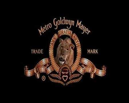 Metro Goldwyn Mayer lion.