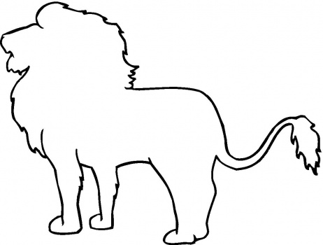 Free Lion Outline Cliparts, Download Free Clip Art, Free.