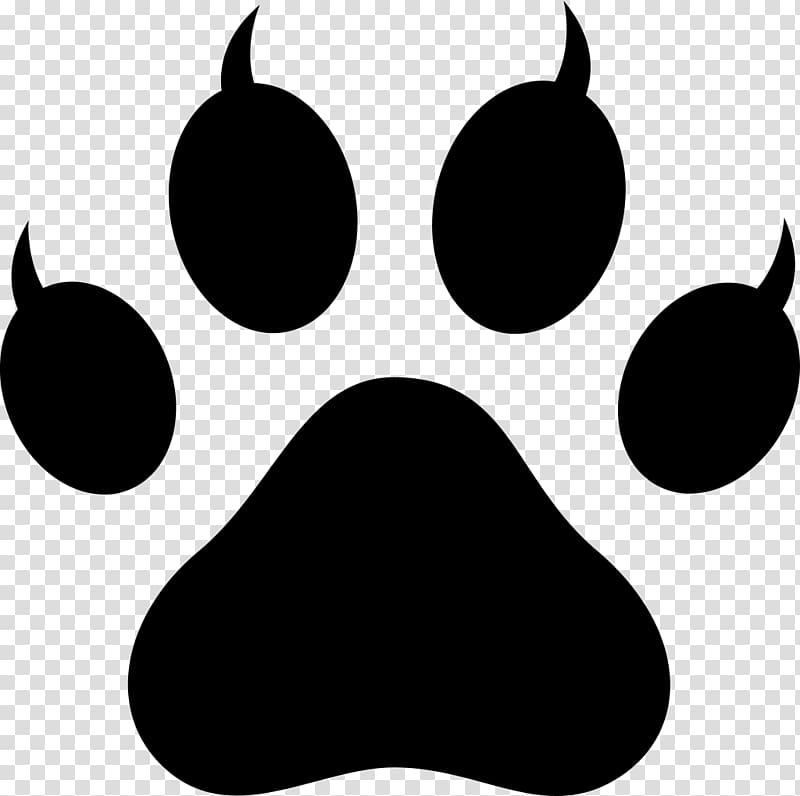 Polydactyl cat Paw Footprint , Lion Paw Print transparent.