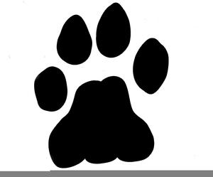 Clipart Lion Paw Print.