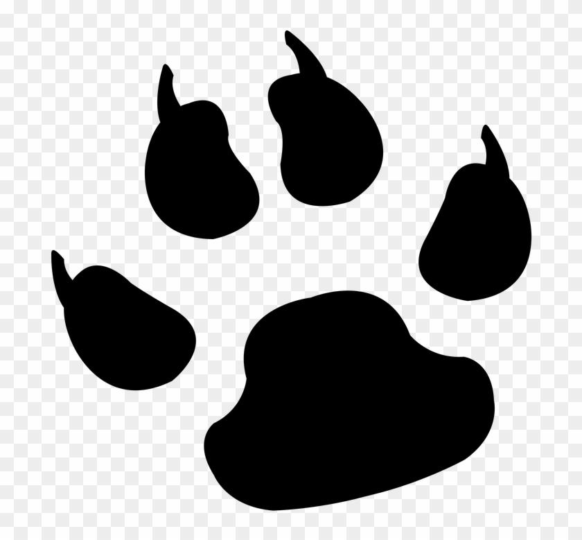 Footprint Clipart Lion.