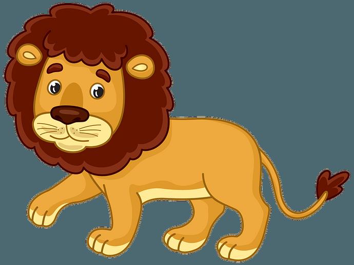 Lion clipart. Free download..