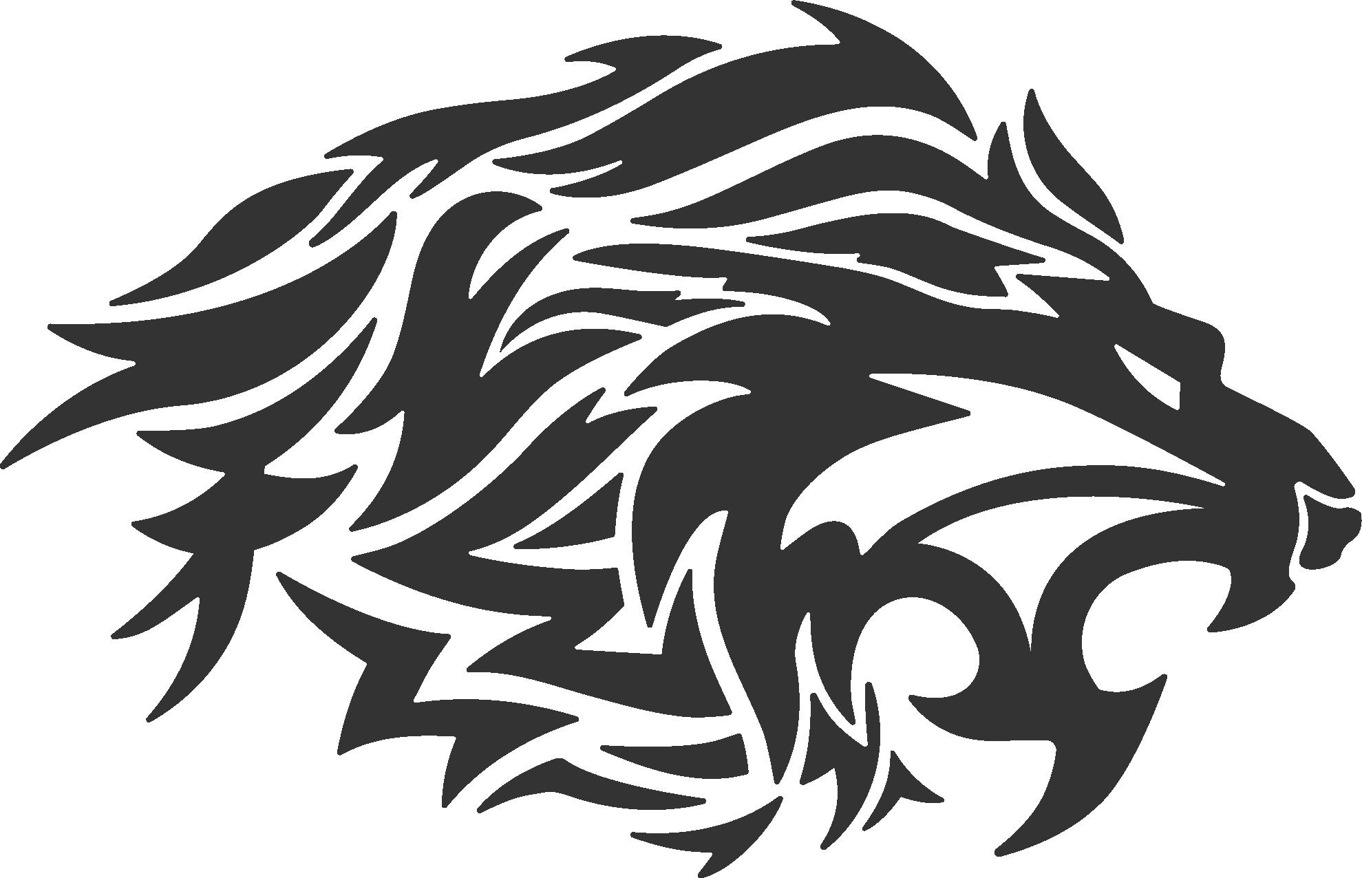 Lion Tattoo Tribe Tribal Wars.