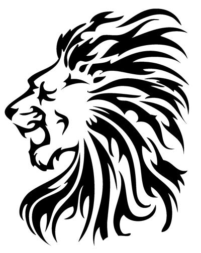 Tribal Lion Tattoo Outline Tribal tattoos.