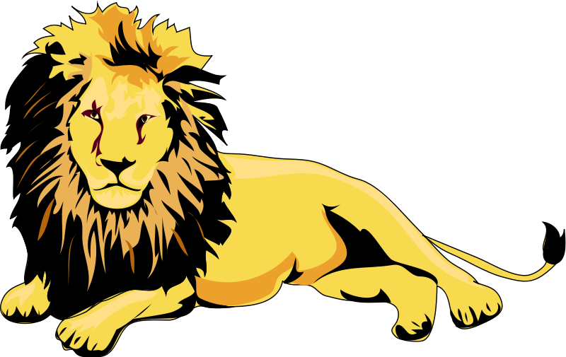 Free Lion Clipart and Animations.