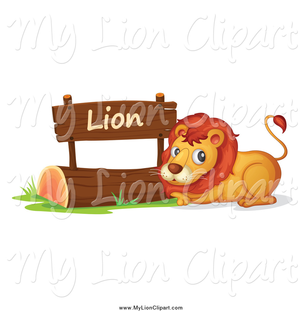 Royalty Free Zoo Stock Lion Designs.