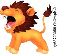 Lion Roar Clip Art.