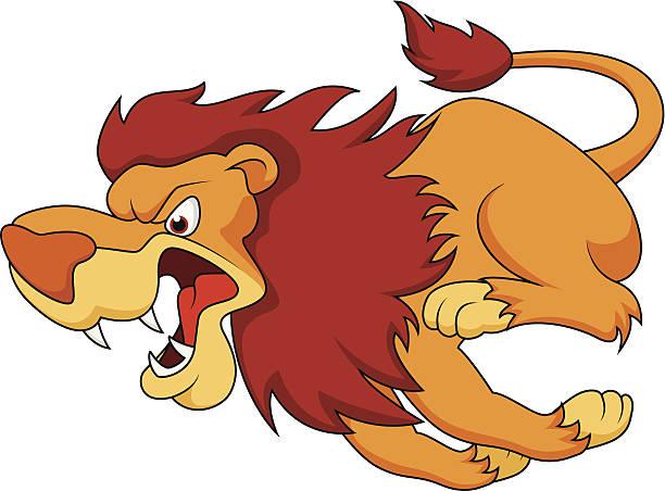 Best Lion Running Illustrations, Royalty.