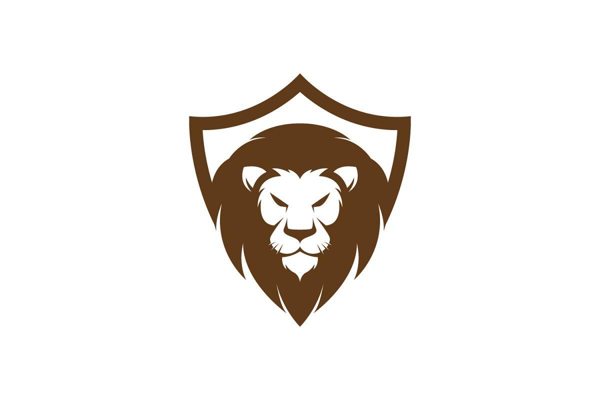 Lion Shield Logo.