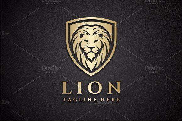 Lion Shield Logo @creativework247.