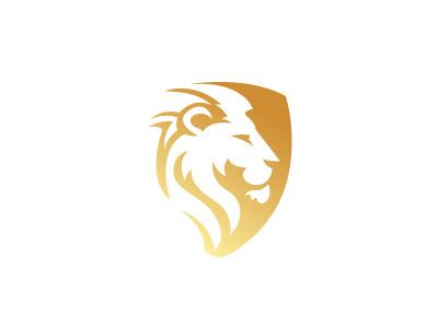Lion Shield Logo by AM on Dribbble.