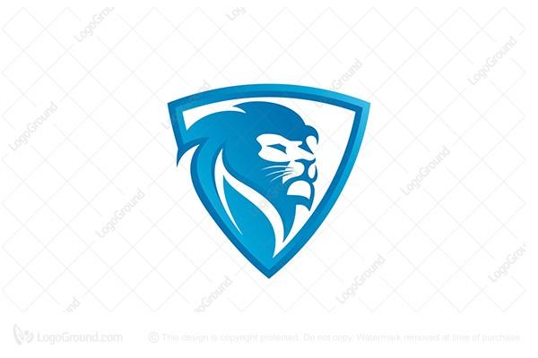 Exclusive Logo 71207, Lion Shield Logo.