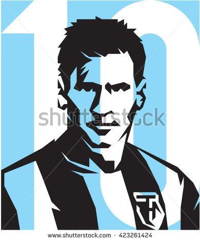 Lionel Messi New Clipart.