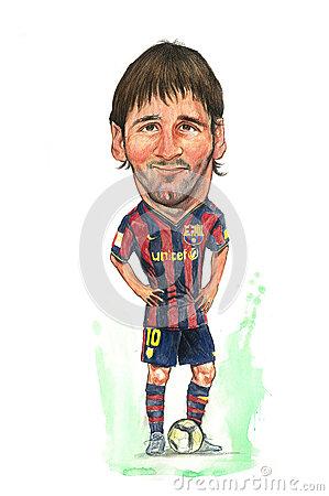 Messi Stock Illustrations.