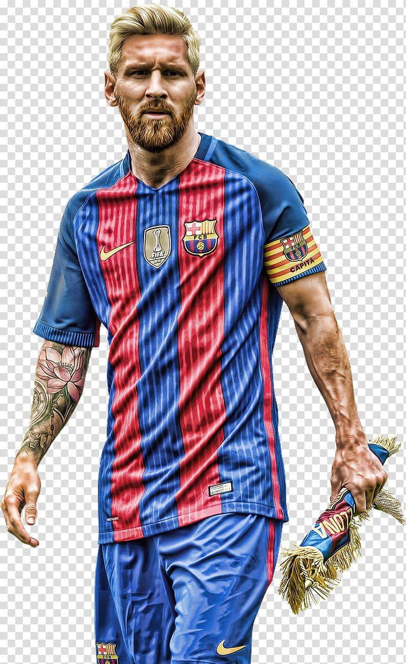 Lionel Messi topaz transparent background PNG clipart.