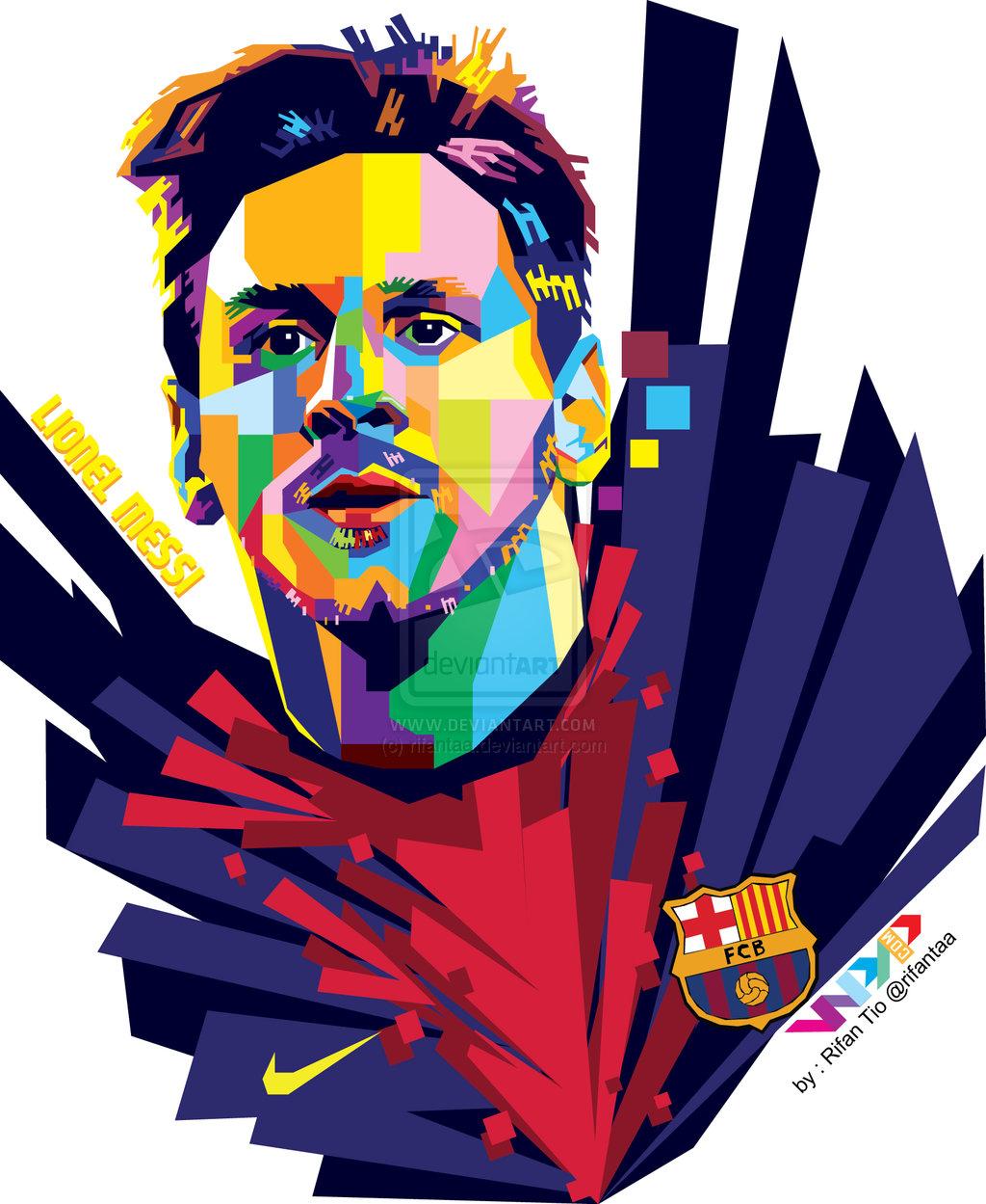 Lionel Messi Free Clipart.