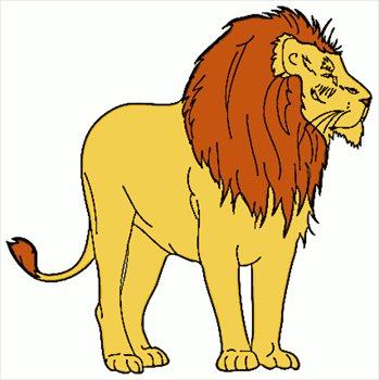 Lions clip art.