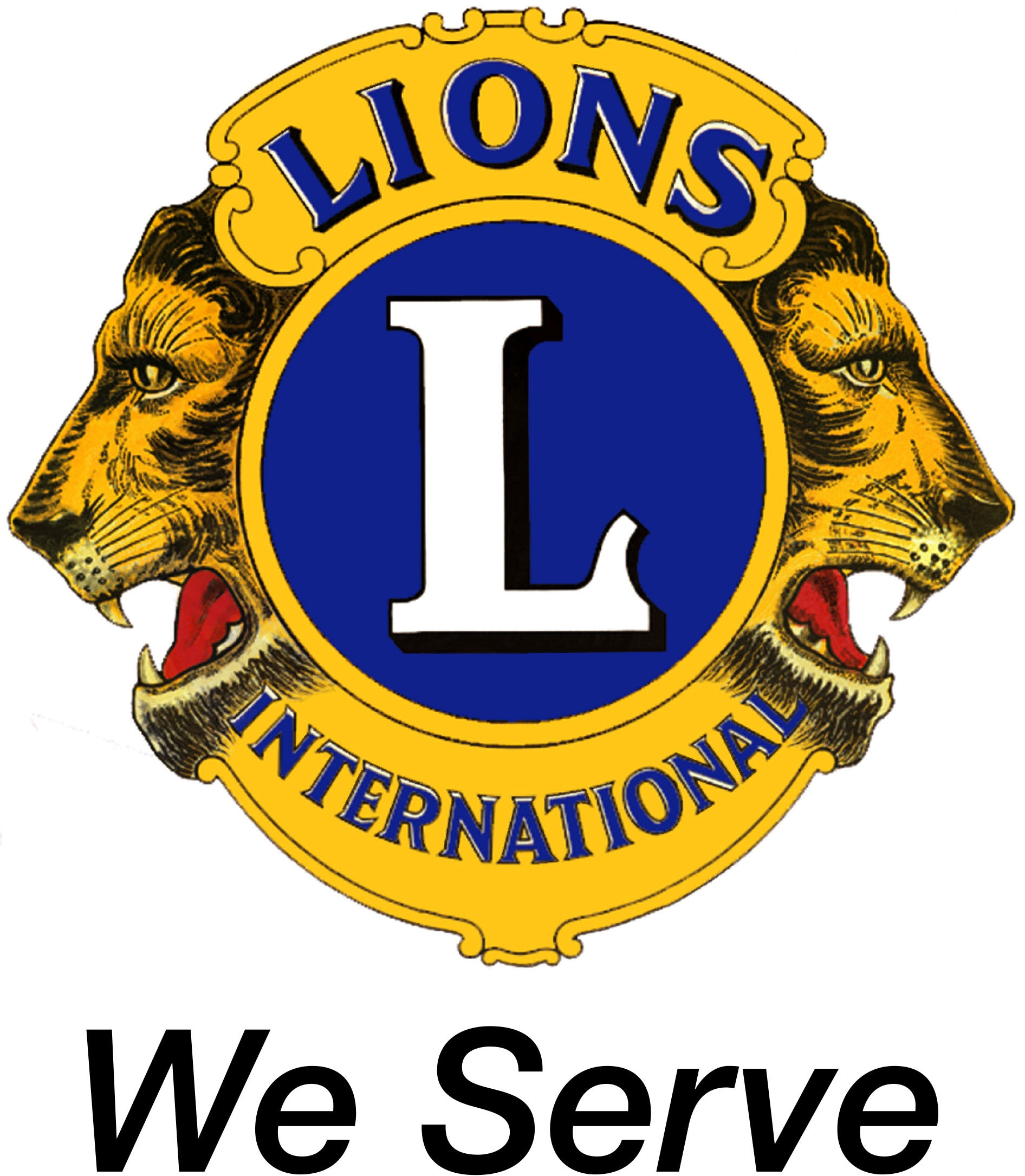 1324 Lions free clipart.