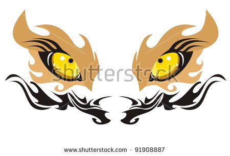 Lion Eyes Stock Vectors, Images & Vector Art.