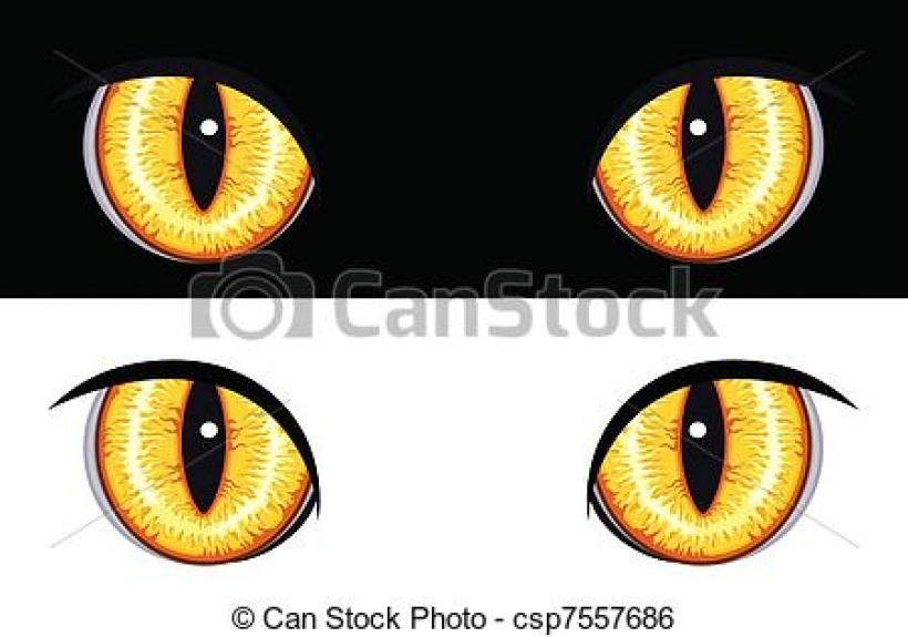 Animal Eyes Clipart.