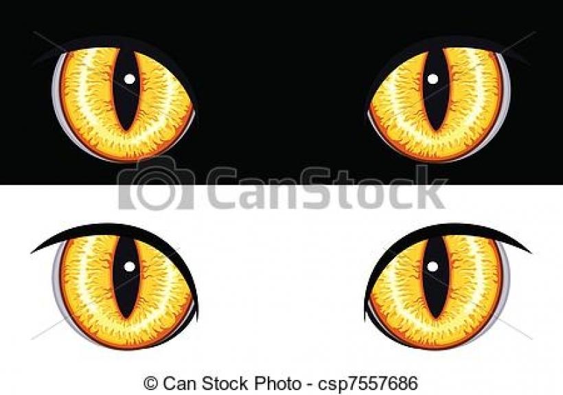 Animal Eyes Clipart.