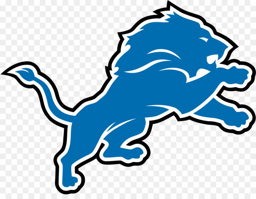 Detroit Lions Line Art png download.