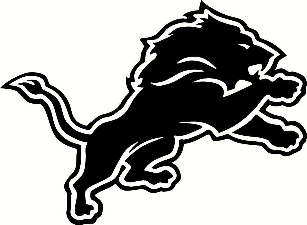 Detroit Lions Logo Stencil Free Download Clip Art.